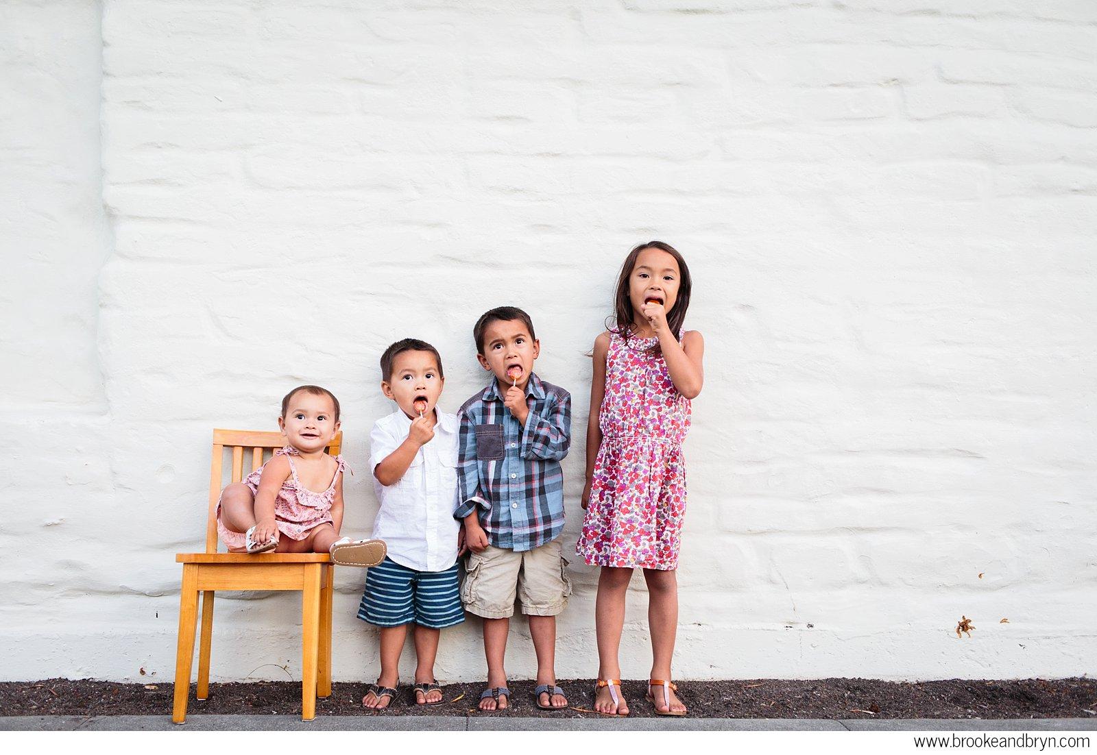 santa clara family photo shoot