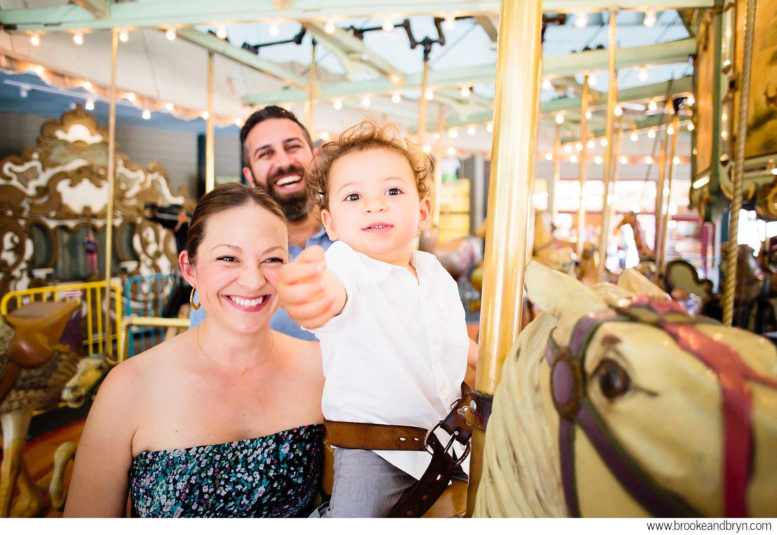 Tilden Park Carousel Maternity Shoot | Oakland, CA